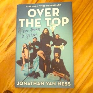 Over the Top by Jonathan Van Ness Book